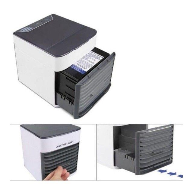 Mini Ar Condicionado/Climatizador com LED - Foto 2