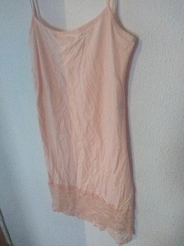 Vestido rosa/salmão