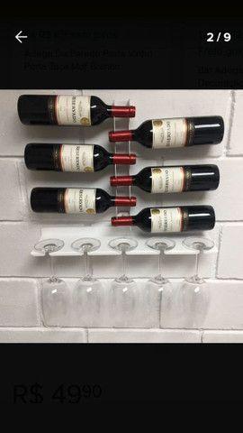 Adega de vinho 6 garrafas em aco
