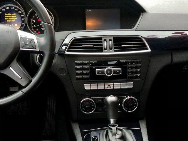 Mercedes-benz C 180 2012 1.6 cgi classic 16v turbo gasolina 4p automático - Foto 14