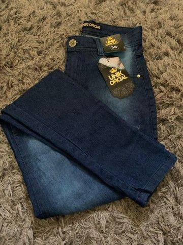 Última unidades Calça Jeans - Foto 4