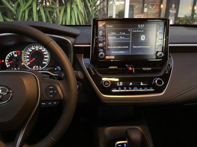 Toyota Corolla 2.0 XEI 2022 + Blindado - Foto 11