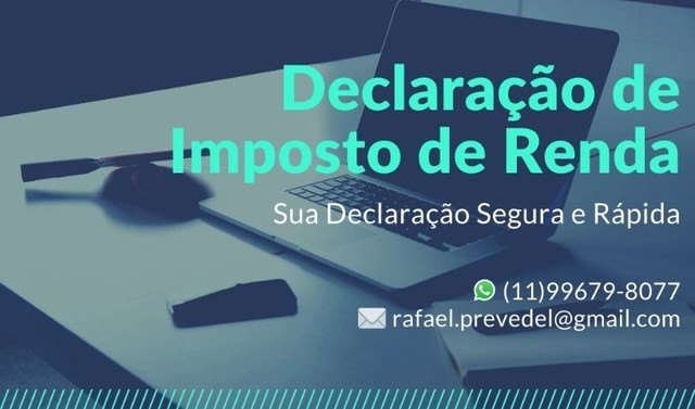Contador - Declaração de Imposto de Renda