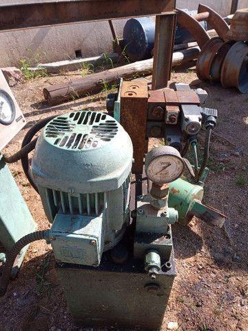 Unidade hidráulica e cilindro - Foto 4