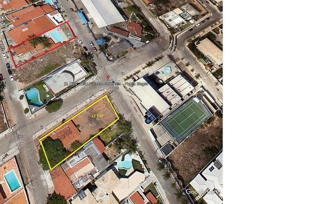 Terreno próximo ao Sesc Ponta Negra com projeto; 865,45m²; ótima localização
