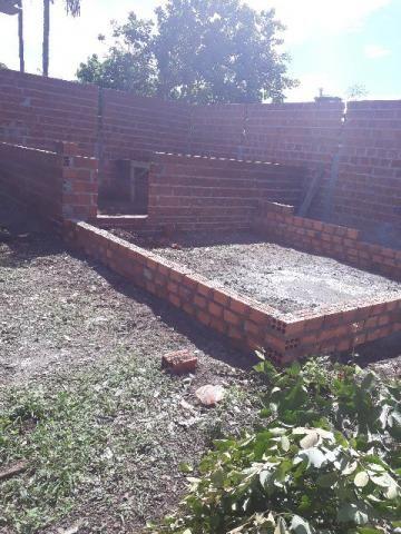 Terreno com construção 25x30