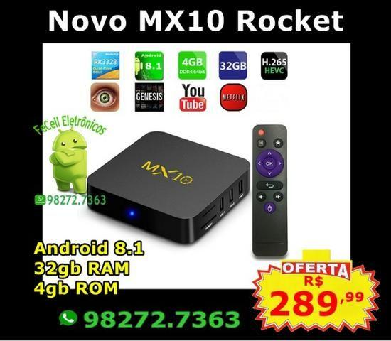 ⚡ Mx10 android 8 1 tv box de 4gb 32gb | MX10 Android 8 1 TV
