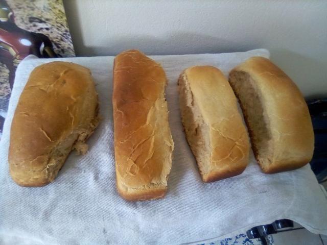 Paes caseiro vendo e bolo de pote