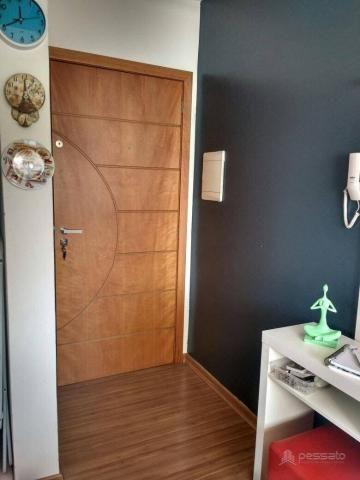Apartamento com 3 dormitórios à venda, 69 m² por r$ 265.000,00 - vila monte carlo - cachoe - Foto 11