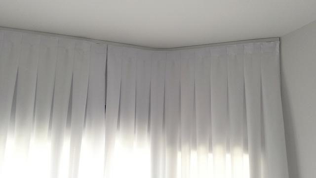 Cortina Branca Curta - Foto 3