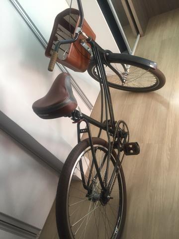 Bike estilo retrô maravilhosa