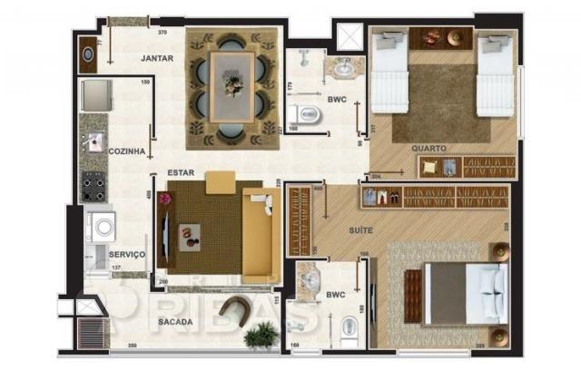 Apartamento residencial à venda, novo mundo, curitiba - ap0329. - Foto 11