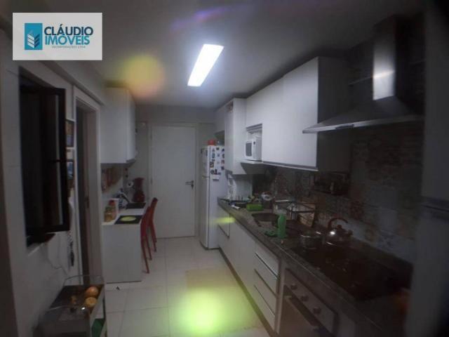 Apartamento com 3 dormitórios à venda, 110 m² por r$ 580.000 - jatiúca - maceió/al - Foto 11