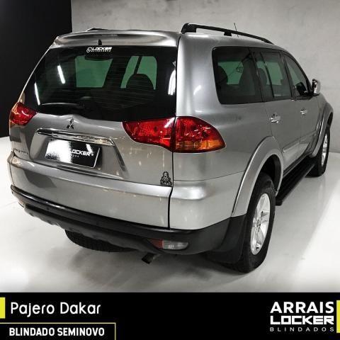 Mitsubishi pajero dakar 2012/2012 3.2 hpe 4x4 7 lugares BLINDADO - Foto 4