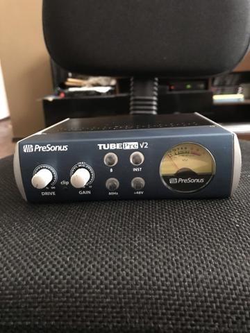 Pré Amp PreSonus TubePre V2 Valvulado