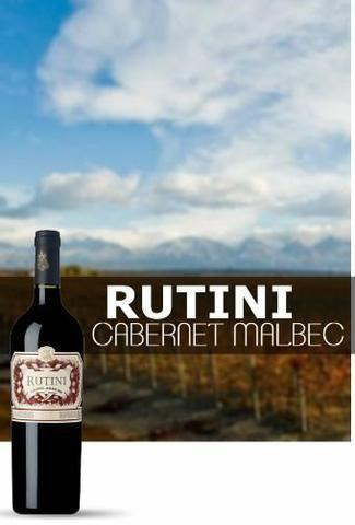 Vinho Rutini Cabernet / Malbec 2016