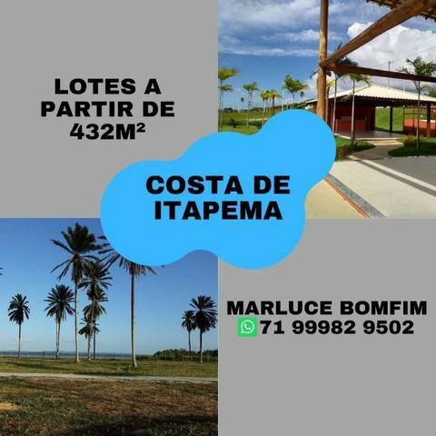 Casa de praia - Lotes/Terreno em Santo Amaro Saubara. Entrada facilitada!