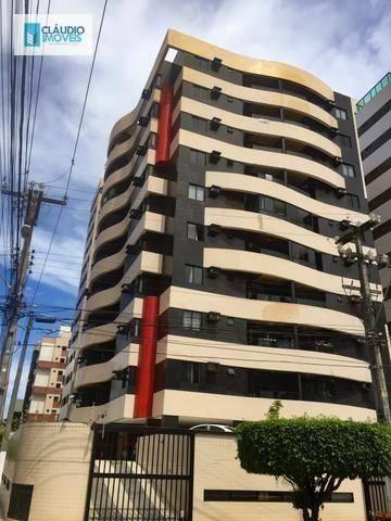 Apartamento com 4 dormitórios à venda, 173 m² por r$ 650.000 - ponta verde - maceió/al