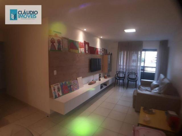 Apartamento com 3 dormitórios à venda, 110 m² por r$ 580.000 - jatiúca - maceió/al - Foto 14