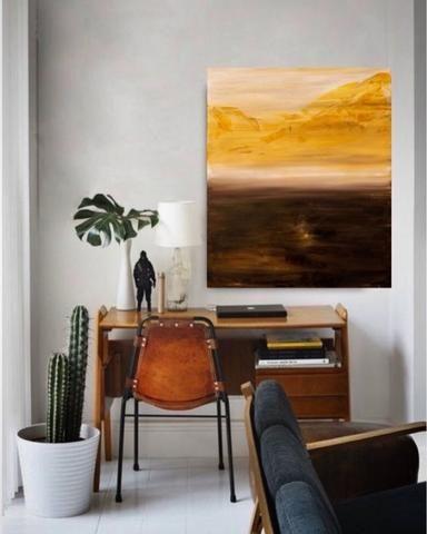 Quadro Abstrato Original 120 x100cm