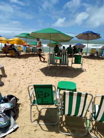 Ponto na praia de boa viagem