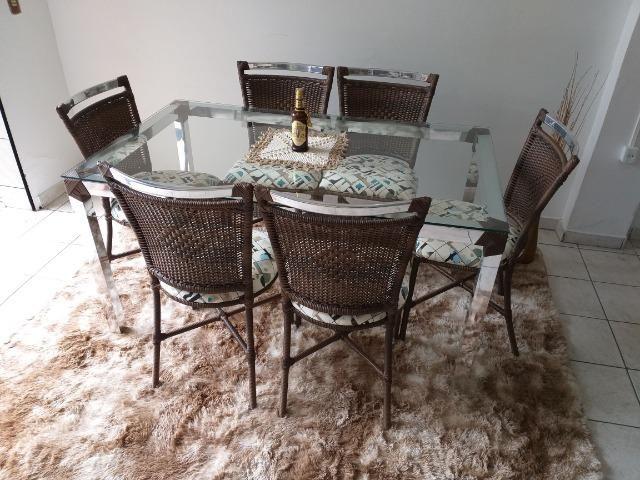 Conjunto de mesa atlanta (6 lugares)