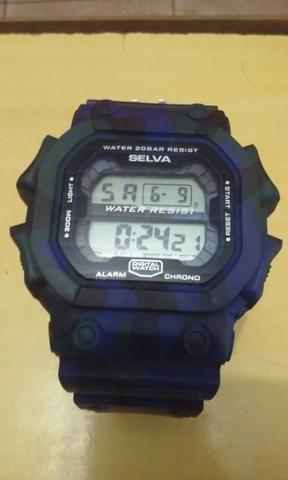f3a7d6a474c Relógio masculino G-shock militar camuflado digital - Bijouterias ...