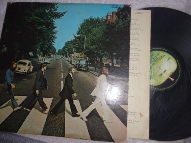LP Beatles, Abbey Road - import. Japão