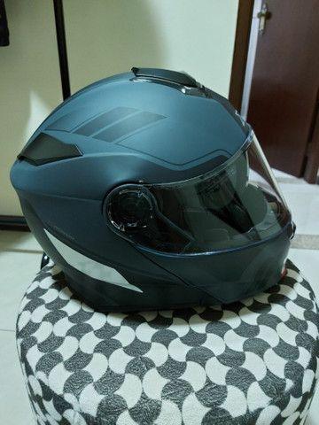 Capacete X 11 robocop com óculos interno top !!!!! - Foto 2
