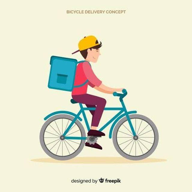 Preciso de entregador de bike delivery