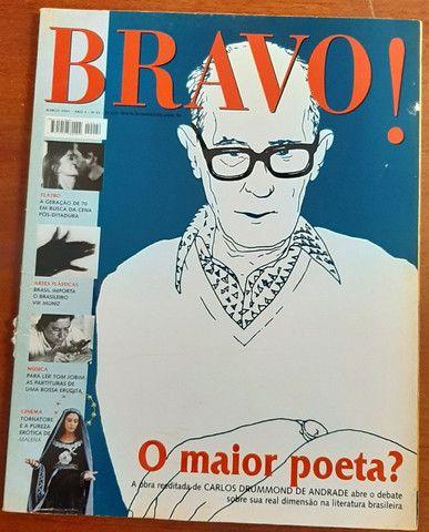 Revista Bravo - Nº 42 - O Maior Poeta? Carlos Drummond - mar/2001 - Foto 2