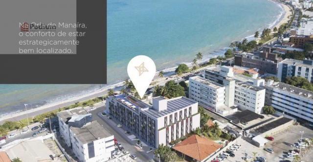 Apartamento à venda com 1 dormitórios em Manaíra, João pessoa cod:33602 - Foto 8
