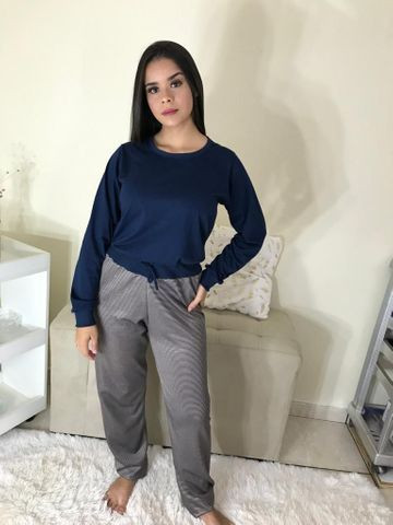 Pijamas malha 100% algodão - Foto 5