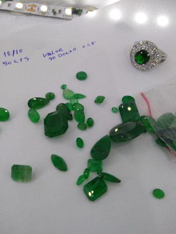 Pedras preciosas esmeraldas - Foto 2