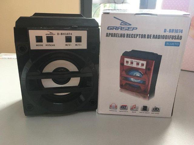Caixa de Som Bluetooth D-BH1074 Grasep