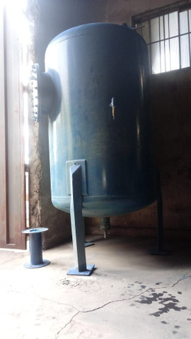 Reservatório de aço para água