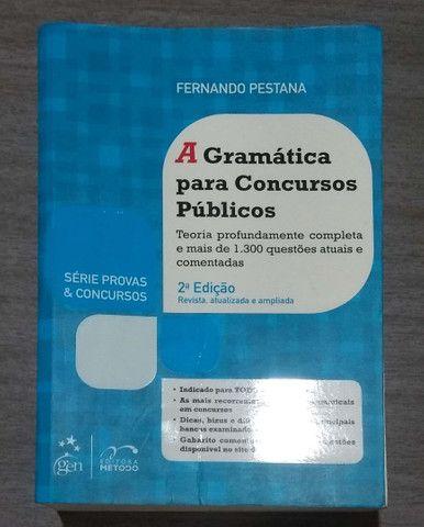 Gramática para concursos, vestibular Fernando Pestana
