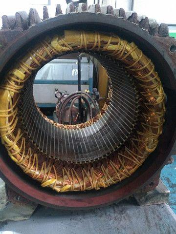 Motor Weg 1180 RPM trifásico 4 polos - Foto 4