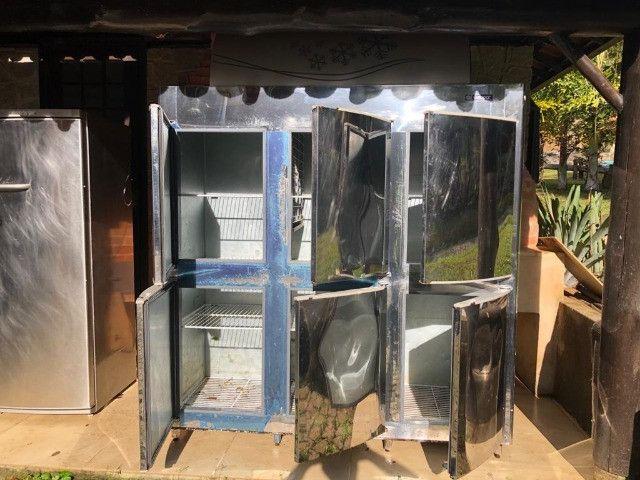 Refrigerador Gelopar 6 portas inox - Foto 2