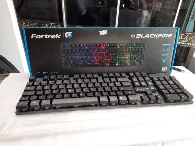 Teclado Gamer Fortrek BlackFire