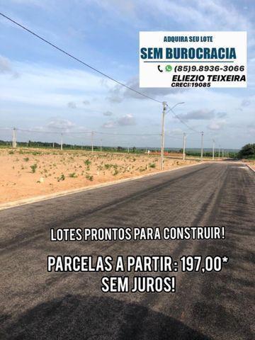 Lotes financiado SEM juros, com localização privilegiada! - Foto 11
