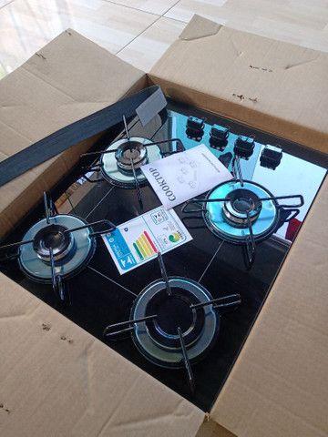 Novo, Fogão Cooktop, 9 8 3 8 9-5 8 1 2 na caixa