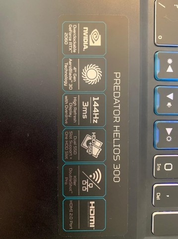 Notebook Gamer RTX 2060 - Foto 3
