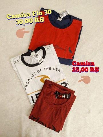 Camisas, Bermudas e Bonés
