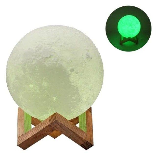 Luminária Lua com Música e Bluetooth e Controle - Foto 3