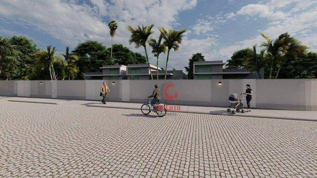 Casa Linear com 3 Quartos Sendo 1 Suíte à venda, 80 m² por R$ 280.000 - Enseada das Gaivot - Foto 10