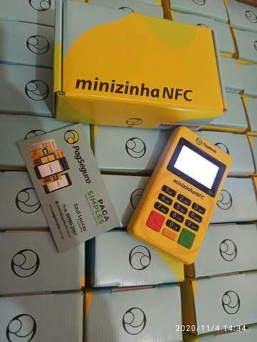 Minizinha NFC - Maquininha de cartão  - Foto 3