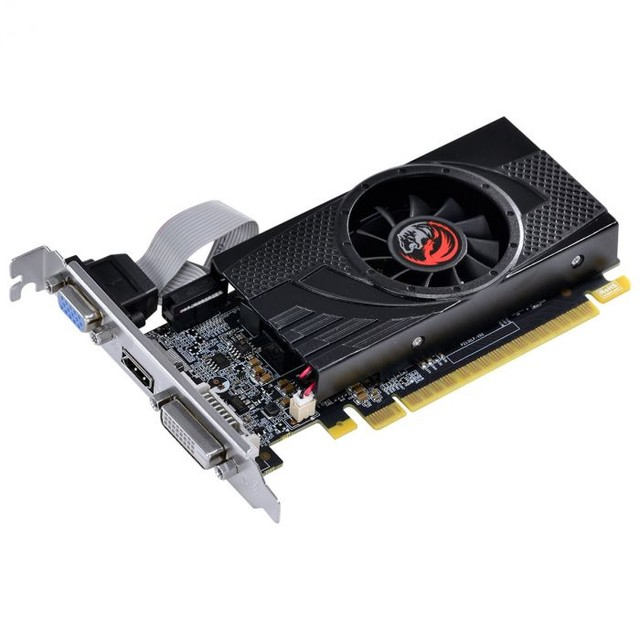 PLACA DE VIDEO NVIDIA GEFORCE GT 730 GDDR5 4GB 64BITS LOW PROFILE COM KIT INCLUSO