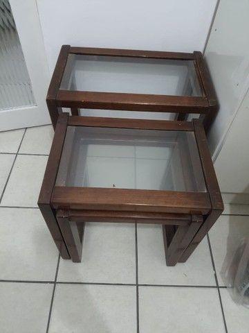 Conjunto três mesas apoio - Foto 4