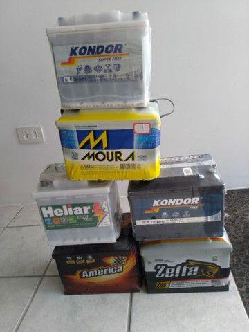 Baterias 60 Ah Zetta(1 ano de garantia) CCA- 440 R$290,00 a Vista ou em 10x=32,00